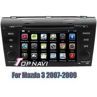 Android 4.4 Quad Core Car DVD Player For Mazda 3 2007-2009 GPS Navigation