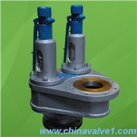 Cast Steel Iron Bronze Double port Full lift safety valve
