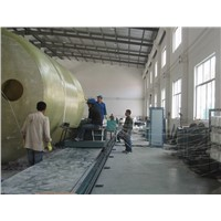 FRP tank/vessel winding machine