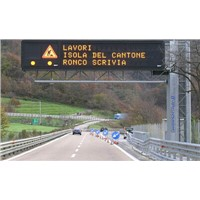 Variable Message Led Traffic Signs Standard Highway Sign For Environmental