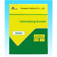 Green and Blue sensitive X-ray Intensifying Screen