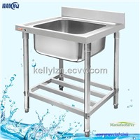 single sink,stainless steel kitchen sink,commercial stainless steel sink
