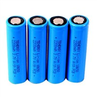 18650 Li-ion Batteries with 3.7V 2200mAh