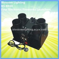 Four Electronic Fireworks Launchers (BS-8034)