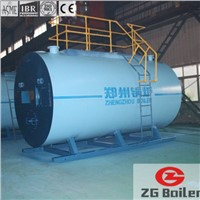 Vertical field assembly Gas Fired Boiler in Sea Food Factory