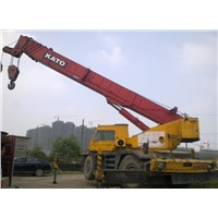 kato  55 ton used rough terrian crane