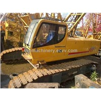 Used condition XCMG QUY70 70t crawler crane second hand XCMG 70T crawler crane for sale