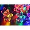 Bright 50 Blossom Solar Powered 5M Led String Light Fairy Starry lights