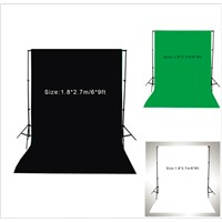 1.8 * 2.7m / 6 * 9ft Photography Backdrop Muslin Cotton Photo Lighting Studio Background