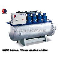BUSCH water-cooled screw chiller cooling machine drawing host coating machine