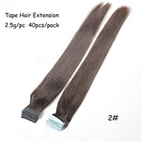 Brazilian Remy Tape Hair Extensions strong blue lace tape adhesive