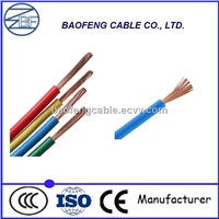 Copper Conductor Flexible PVC Wire