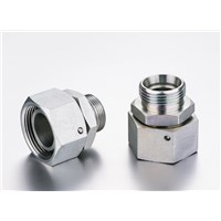 DIN ADAPTOR-METRIC MALE 24 Degree CONE/METRIC FEMALE 24 Degree CONE