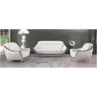 Modern Leather Furniture Office Sofa Set (L. a. 228)