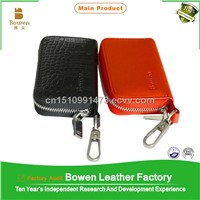 New product genuine leather hotel key card holder, key wallet