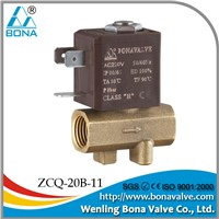 BONA Brass Solenoid Valve for Welding Machines