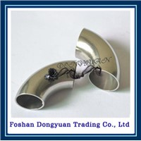 china custom precision stainless steel pipe elbow