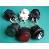 LC210 series waterproof illuminated push button switch