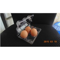 4 egg packaging plastic tray