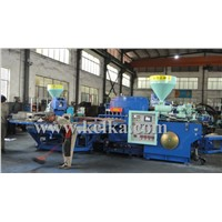 ROTARY  DOUBLE COLOR THREE COLOR INJECTION MOLDING MACHINE