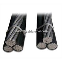 3 Core Aluminum Conductor XLPE Insulated ABC Cable