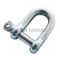AISI 316 Stainless Steel European Type D Shackle