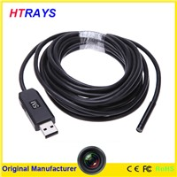 Digital 5.5mm flexible tube 1280x1024 high pixels tube snake endoscope camera