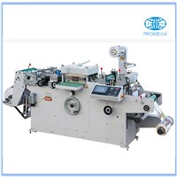 MQ-320 Fully-automatic roll-roll continuous adhesive label die cutte