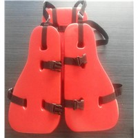 PVC Material Three Pieces Working Life jacket for Oil Platform