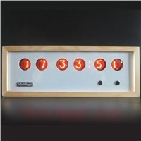 Nixie Tube Table & Desk Clock