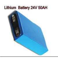 Rechargeable Battery Pack 24V , Lithium Iron Phosphate ( LiFePO4) Battery 50AH Storage Battery