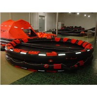 Reversible Inflatable Life Raft with 6 to 100 Persons