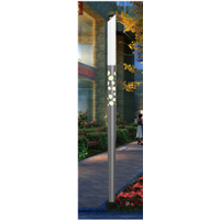 Aluminum Garden Light Pole M-GB04