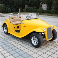 4 seater electric classic resort car