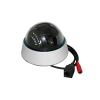 Indoor plastic dome vandalproof IMX222+3516C 2mp 1080p IP camera
