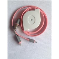 Retractable USB Cable for Mobile Phone