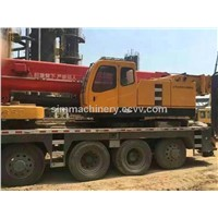 Second hand Sany 100t truck crane used condition year 2009 sany 100t mobile crane for sale