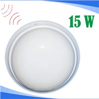 15W motion sensor LED ceiling light