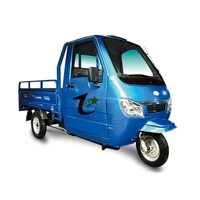 Half closed electric cargo tricycle for sale