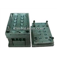 Led optical lens injection mould and moulding