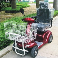 500W electric mobility scooter with shopping basket