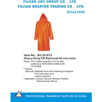 Heavy Duty FR Raincoat Hi-vis color