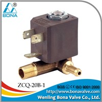 solenoid valve for steam iron