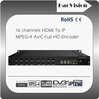 16/20 channels HDMI MPEG4 AVC Full HD Encoder
