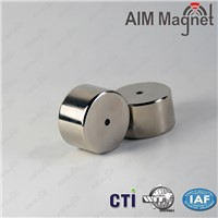 N35 disc neodymium magnet 6.5*1.5mm with Nickel coating