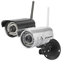 aly003 outdoor plug and play mini bullet Security Wifi IP Camera