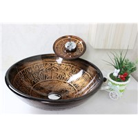 bathroom basin,glass sink,wash basin vessel sink wash sink bathroom cabinet sink N-192