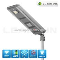 Bluetooth control  all in one solar street  light for highway applicance