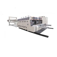 Pizza carton box Automatic printer slotter die cutter machine