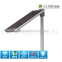 CE ROHS high lumens solar led street lamp with factory price